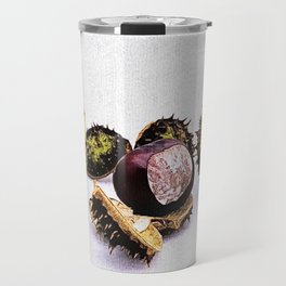 chestnut (Castanea) Travel Mug