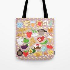 Cute food Tote Bag