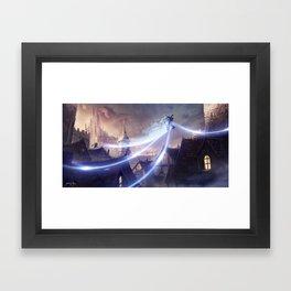 MISTBORN Framed Art Print