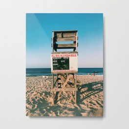 your life guard is nate Metal Print