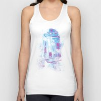 r2d2 Tank Tops featuring R2D2 by Sitchko Igor