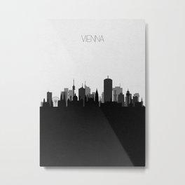 City Skylines: Vienna Metal Print