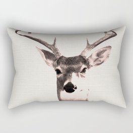 Deer Art 1 Rectangular Pillow