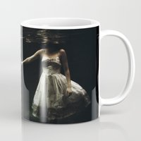 romance Mugs featuring abyss of the disheartened : IX by Heather Landis