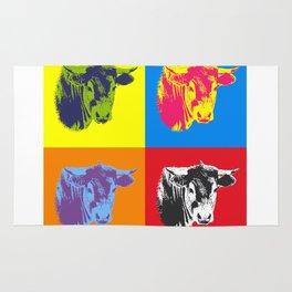 Pop Art Cow! Rug