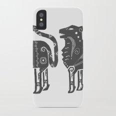 Panthera Tigris Sumatrae iPhone X Slim Case