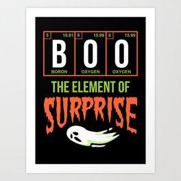Boo Surprise Art Print