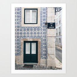 ALFAMA 2 / Lisbon, Portugal Art Print