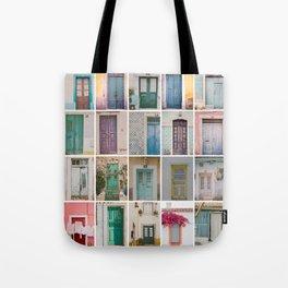 Travel Door Collection Tote Bag
