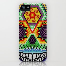 skull huichol iPhone Case