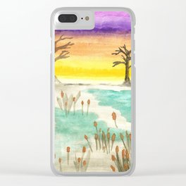 skyscapes 5 Clear iPhone Case