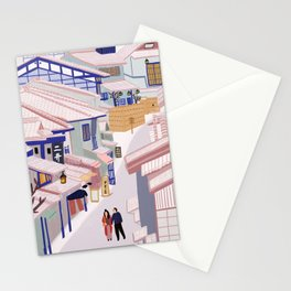 Old Town Kyoto Stationery Cards