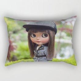 Aya at Kyoto Gardens Rectangular Pillow