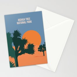 Enjoy The Sun And Explore The Wilderness Of The Joshua Tree National Park Stationery Cards