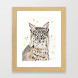 Bobcat Framed Art Print
