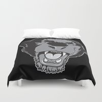 panther Duvet Covers featuring Panther by Taranta Babu