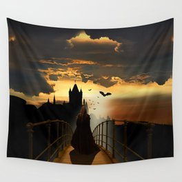 The monk Wall Tapestry