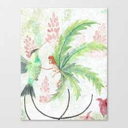 Weed Fairy Canvas Print
