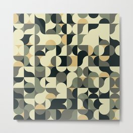 Abstract Geometric Artwork 39 Metal Print