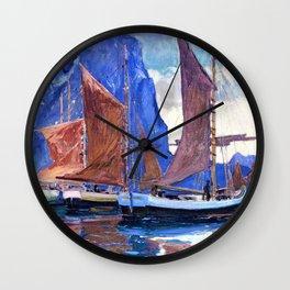 In Northern Seas - Digital Remastered Edition Wall Clock
