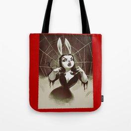 Vampirabbit Tote Bag
