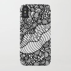 Mouthing iPhone X Slim Case