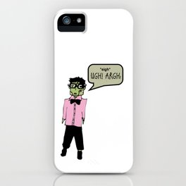Hipster Frank Color iPhone Case