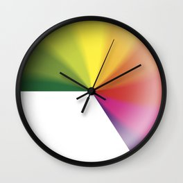 Nine-To-Five Spinning Wheel Of Death Clock Wall Clock