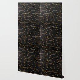 Golden Mosaic  Wallpaper