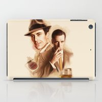 mad men iPad Cases featuring MAD MEN DON DRAPER by TOXIC RETRO