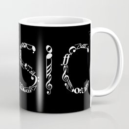 Music typo - inverted Coffee Mug