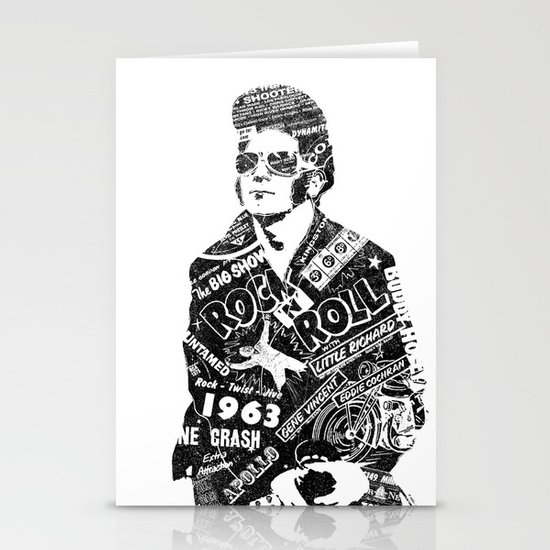 Rockers Delight Stationery Cards