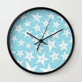 Woodland Stars Wall Clock