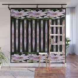 Pink Stars and Stripes Wall Mural