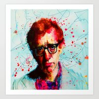 woody Art Prints featuring Woody by benjamin james