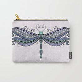 Dragonfly dreams purple Carry-All Pouch