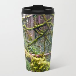 Green Burst Travel Mug