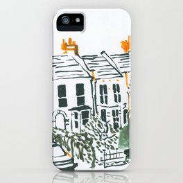 Across the road #3 iPhone Case