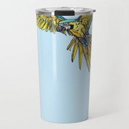 Blue Macaw Travel Mug