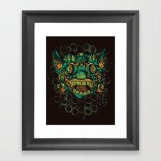 Mahakala Framed Art Print