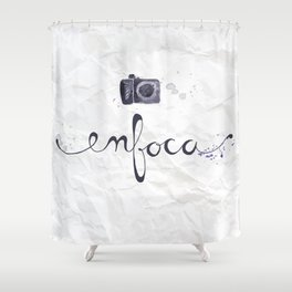 enfoca Shower Curtain