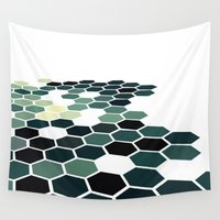 california Wall Tapestries featuring California by Bakmann Art