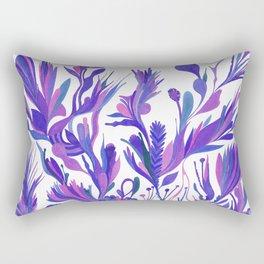 Cobalt garden Rectangular Pillow