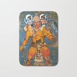 Hunuman, The Monkey God Bath Mat