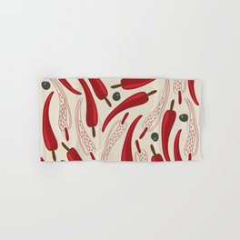 Hot chilli pattern design Hand & Bath Towel