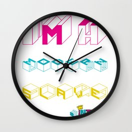 MODERN SLAVE #intern Wall Clock