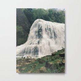 Burgess Falls Metal Print