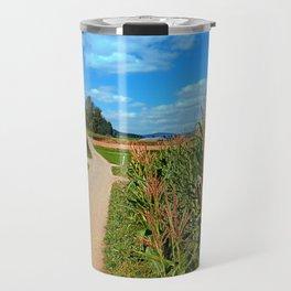 Besides the cornfields | landscape photography Travel Mug