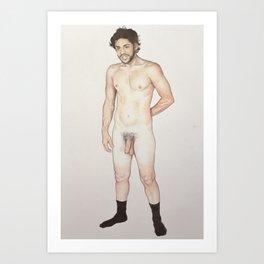 mitchell. Art Print