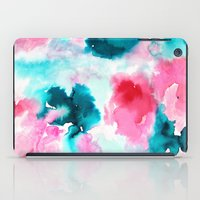 water color iPad Cases featuring Water color by moniquilla